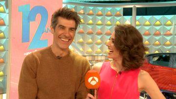 Nos colamos tras las cámaras del Especial 12 aniversario con Jorge Fernández y Laura Moure