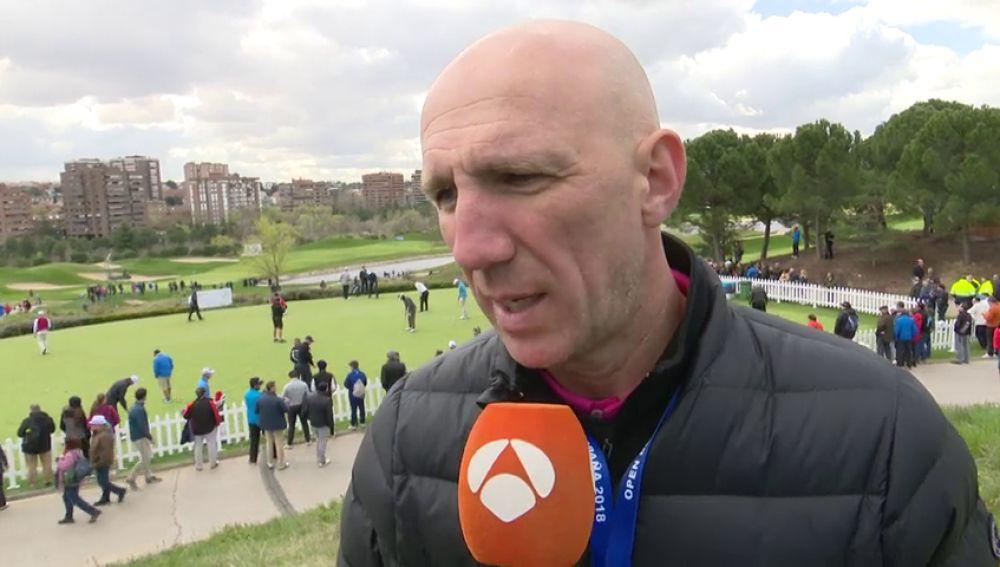 REEMPLAZO: Joseba del Carmen, el 'coach' de Rahm: De desactivar bombas como policía a trabajar la mente del golfista vizcaíno