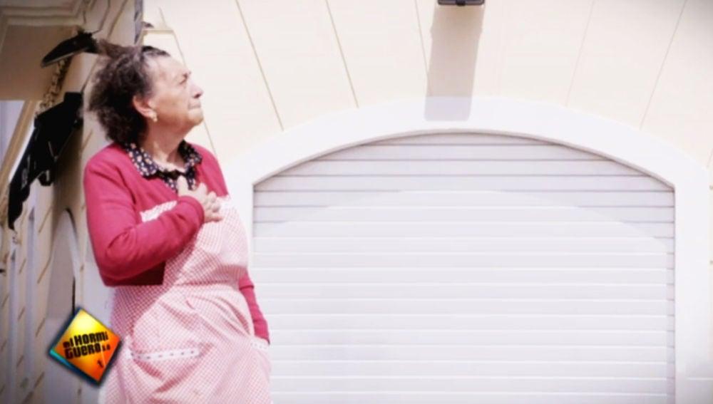 El gigantesco homenaje a Rosa, la abuela coraje del barrio de La Plazuela de Jerez