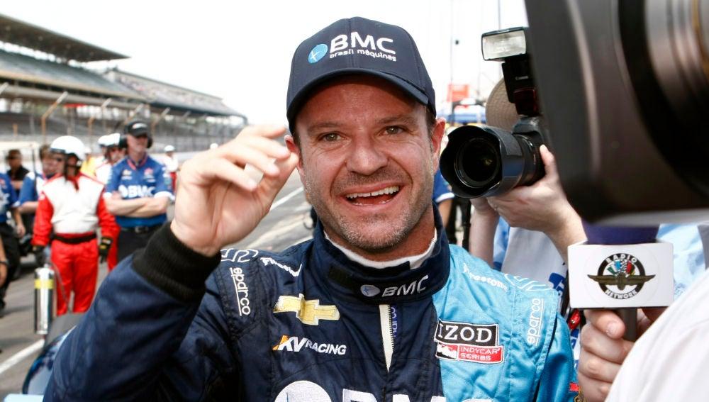 Barrichello, durante una carrera en 2012