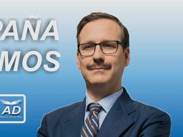 La imparable campaña política de Ocaña frente a los candidatos de la oposición