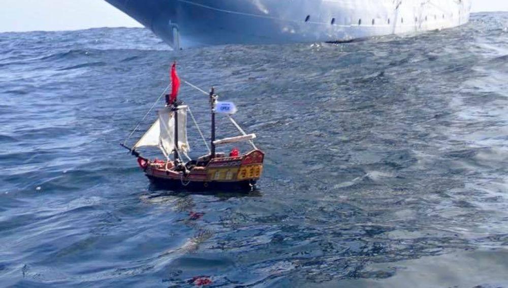 El barco pirata de juguete
