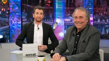 Joan Manuel Serrat relata en 'El Hormiguero 3.0' los momentos más bonitos de su juventud