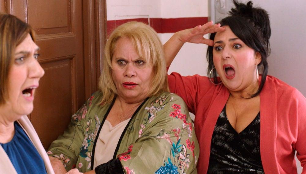 Las vecinas de Carmen salvan a Maritxu de su tremendo error