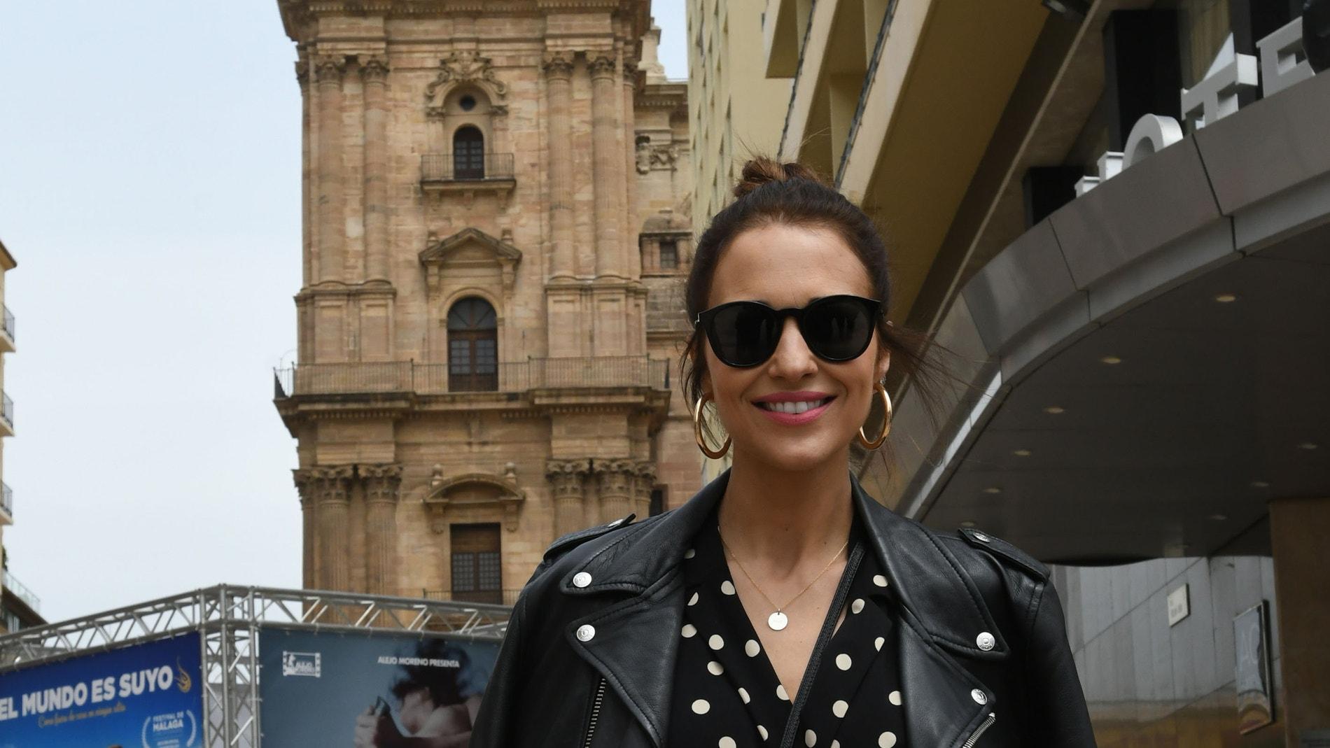 Paula Echevarría en Málaga