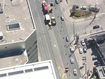 Detenido el conductor que arrolló a un grupo de personas en Toronto
