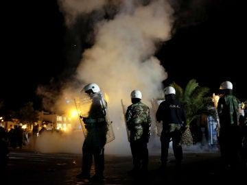 Violencia en Lesbos