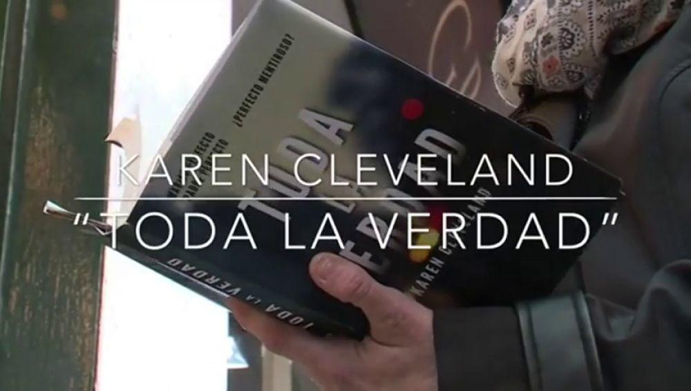"Karen Cleveland publica ""Toda la verdad"""
