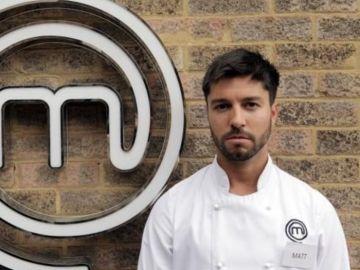 Matt Campbell, concursante de 'Masterchef' británico