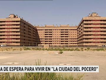 """Lista de espera para vivir en """"la ciudad del Pocero"""""""