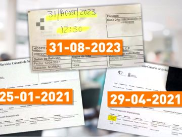 A un paciente canario le dan cita en el médico para 2021