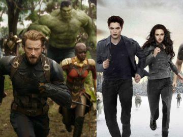 'Vengadores: Infinity War' ft. 'Crepúsculo'