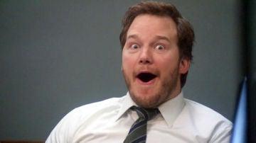 Chris Pratt sorprendido