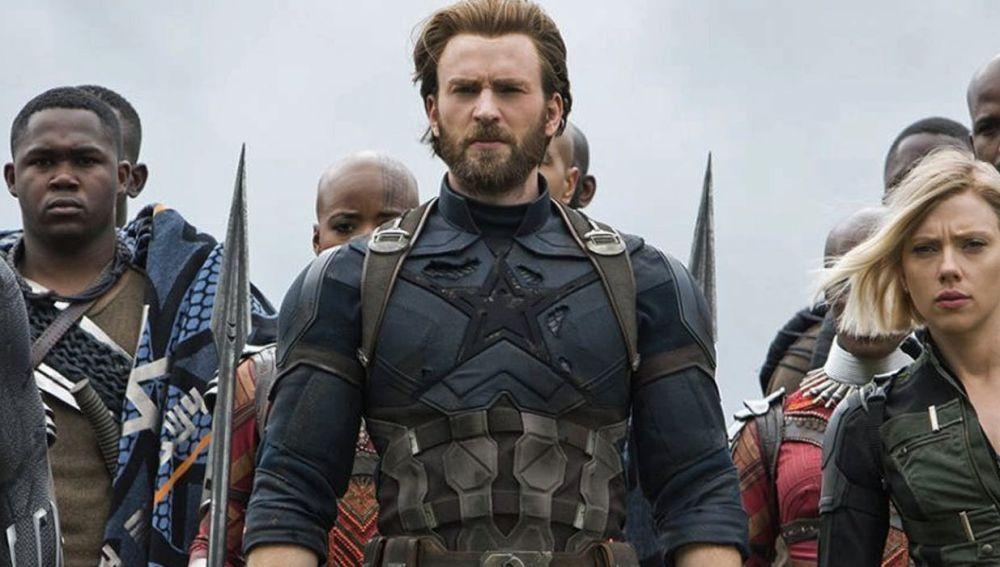 Chris Evans en 'Vengadores: Infinity War'