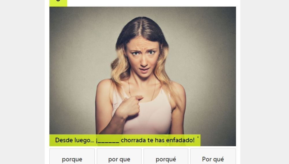 Test lenguaje