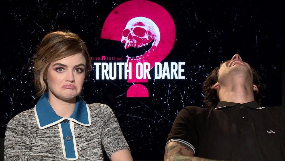 Lucy Hale y Tyler Posey, protagonistas de 'Verdad o reto'
