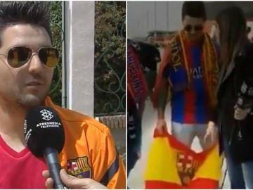 Juan Carlos, el aficionado vetado por Barça TV