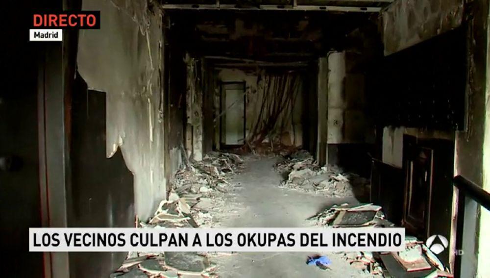 Antena 3 tv una persona resulta herida de gravedad por - Pisos para una persona madrid ...