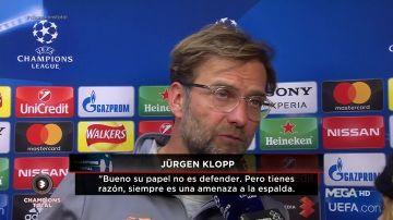 """Klopp, con Susana Guasch: """"Si Salah se hubiese lesionado sí que habría sido un error"""""""