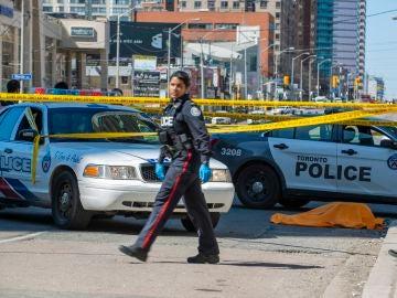 Imagen de un Policía en Toronto