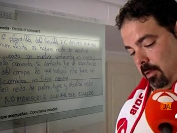 """La hoja de reclamaciones de un socio del Sevilla por la derrota en Copa: """"Habéis jugado con nuestro sentimiento"""""""