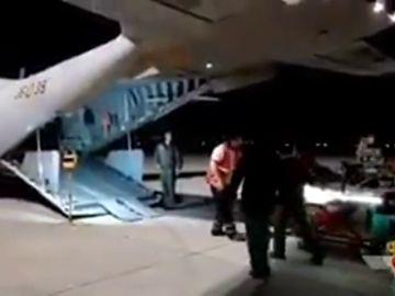 El Ejército del Aire traslada a un bebé en estado crítico de Mallorca a Madrid