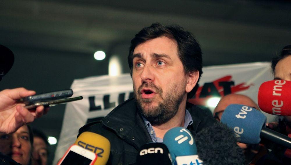 El exconsejero de la Generalitat de Cataluña huido a Bélgica, Toni Comín