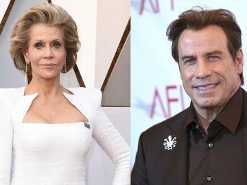 Jane Fonda y John Travolta