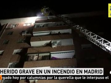 INCENDIO MADRID