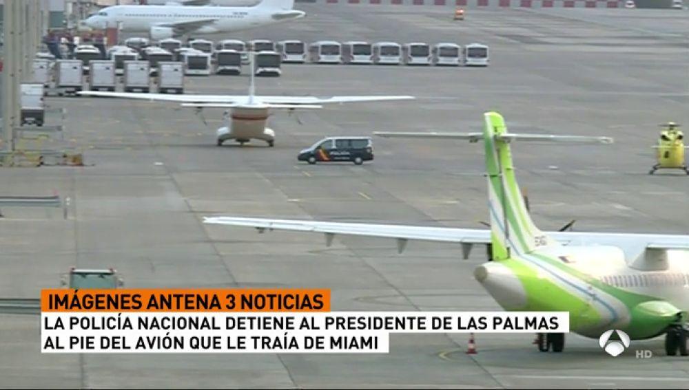 Detienen a Miguel Ángel Ramírez, presidente de Las Palmas, por su acusación de impago a la seguridad social