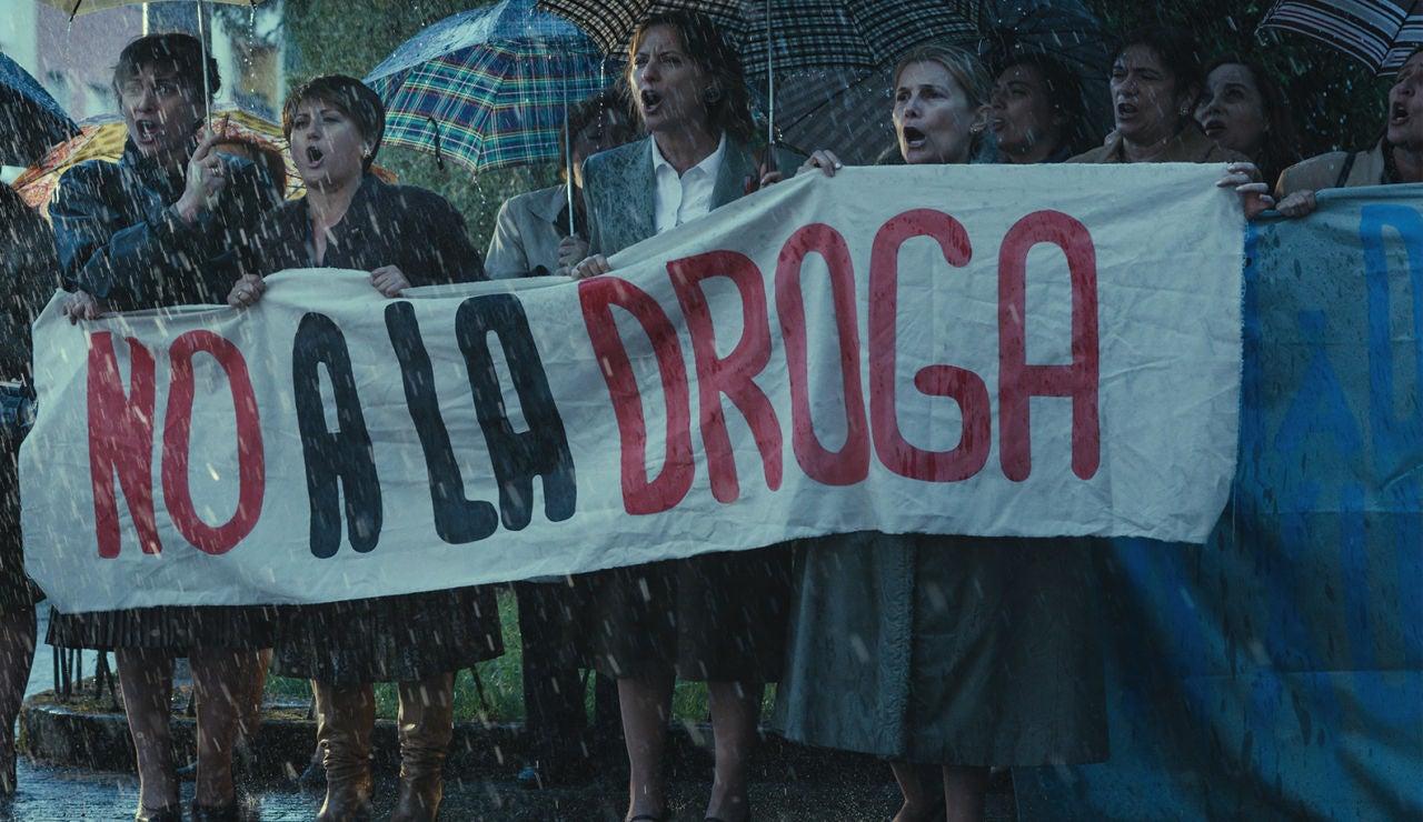 Las madres contra la droga se enfrentan a Sito Miñanco