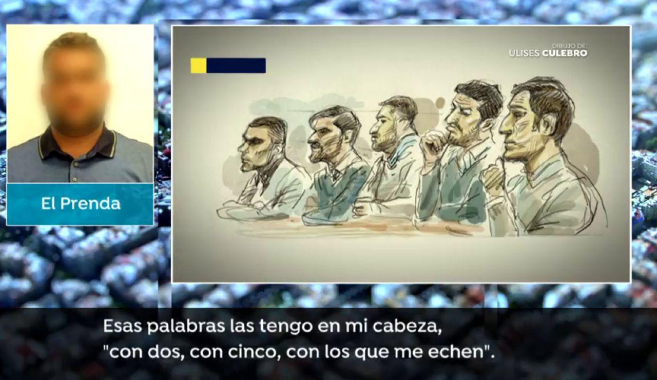 Así respondió a la fiscal el lider de La Manada durante el juicio