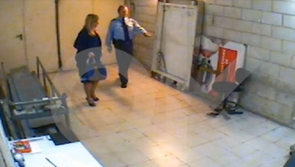 Cristina Cifuentes tras el robo en un supermercado