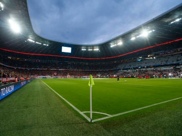 Panorámica del interior del Allianz Arena
