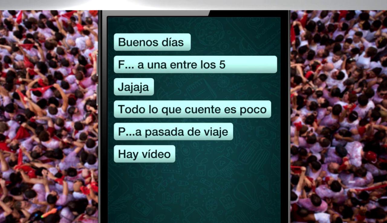 Los mensajes de Whataspp en el juicio a La Manada