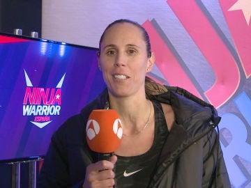 "Amaya Valdemoro: ""Estas pruebas son para verdaderos 'Ninja Warrior'"""