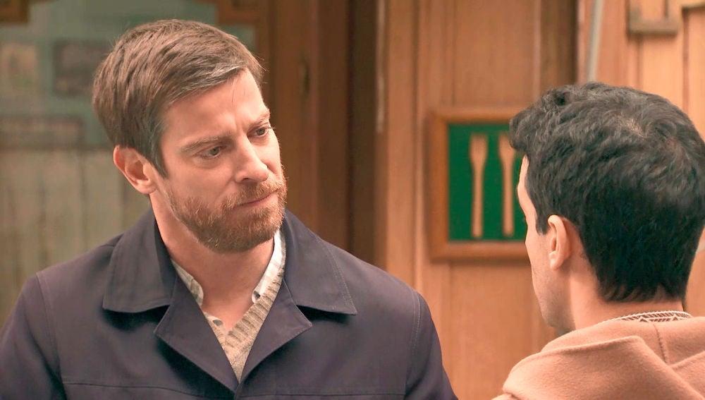Marcelino acepta a Ignacio dentro del 'círculo de confianza' de su familia