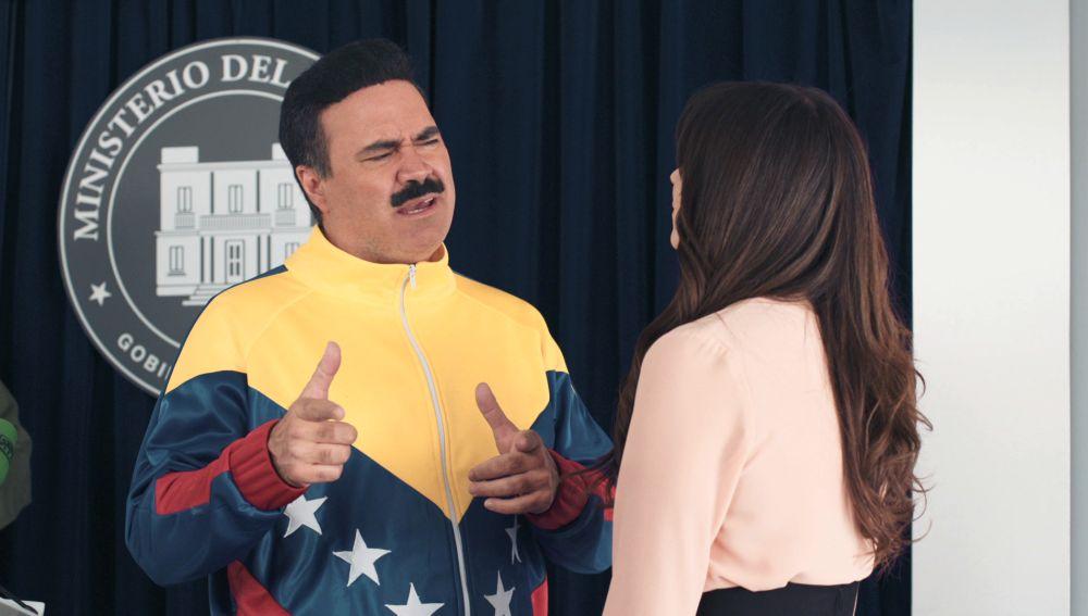Cesc Casanovas es Nicolás Maduro