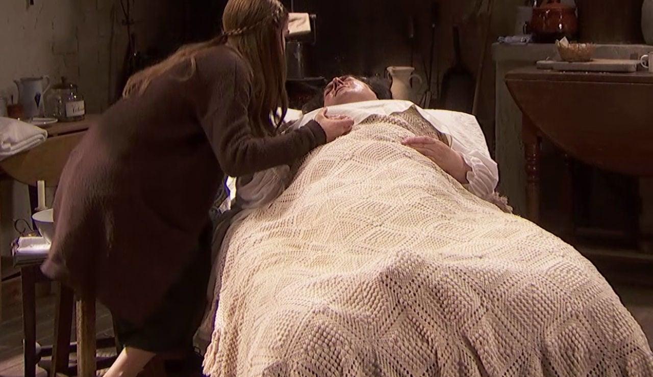 Doña Consuelo, al borde de la muerte