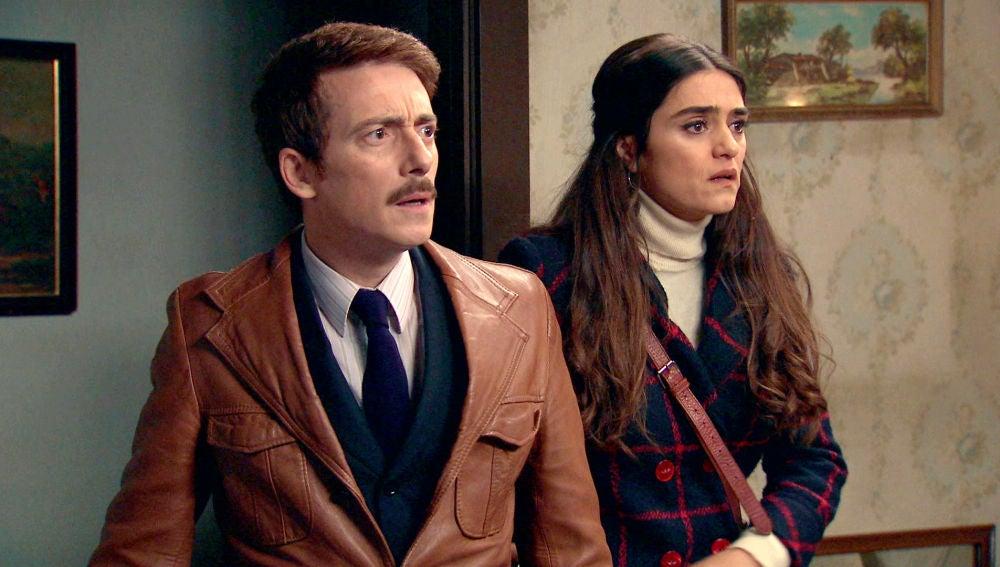 Vicky y Durán encuentran la habitación secreta de Ortega