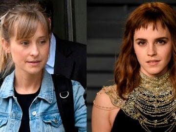 Allison Mack y Emma Watson