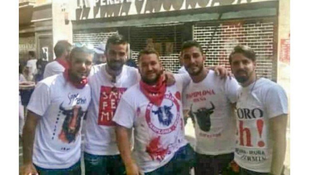 Los miembros de 'La Manada', condenados por abuso sexual