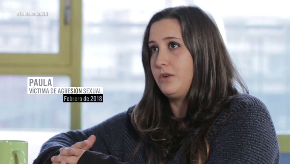 Paula, víctima de agresión sexual