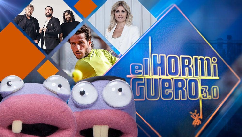 Dani Mateo, J. J. Vaquero, Raúl Cimas, Sandra Golpe y Feliciano López en 'El Hormiguero 3.0'