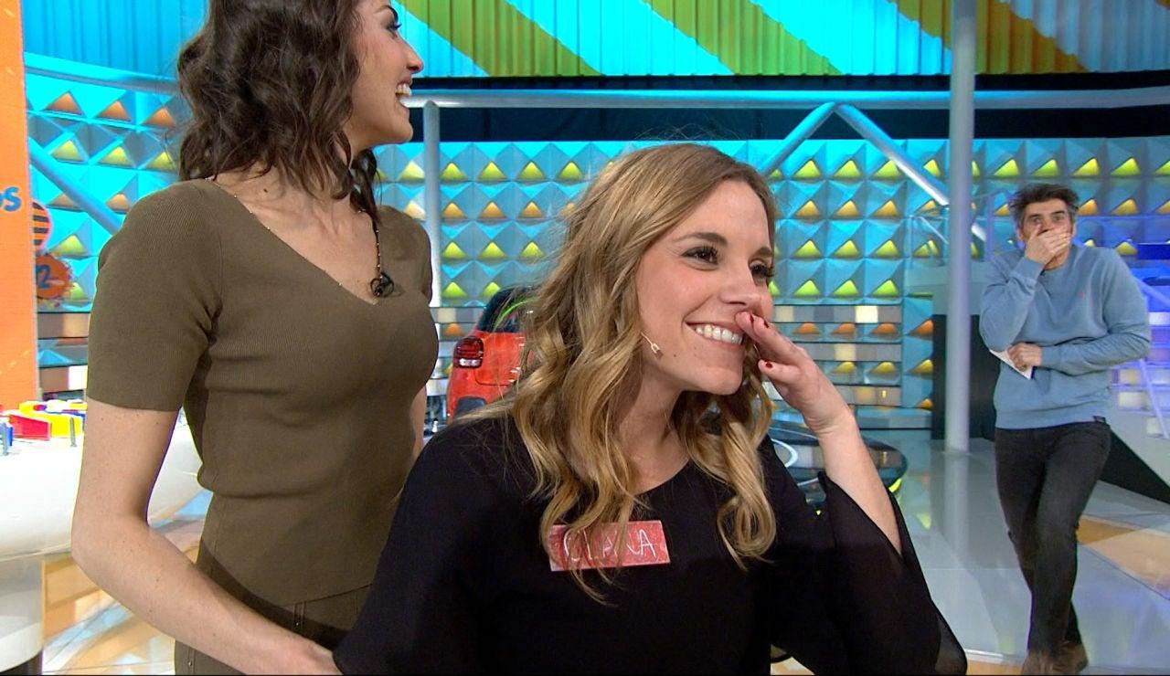 La euforia se desata en 'La ruleta de la suerte': ¡Clara se lleva más de 30.000€ y el coche!