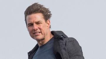 Tom Cruise en el rodaje de 'Misión: Imposible - Fallout'
