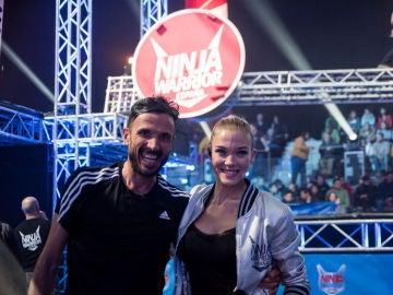 Chema Martínez en 'Ninja Warrior'