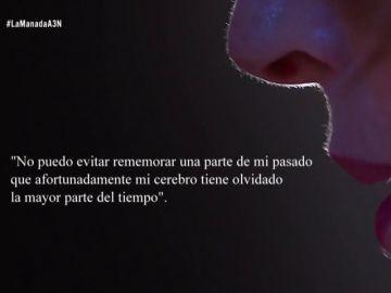 Una víctima de violación, sobre la joven de La Manada