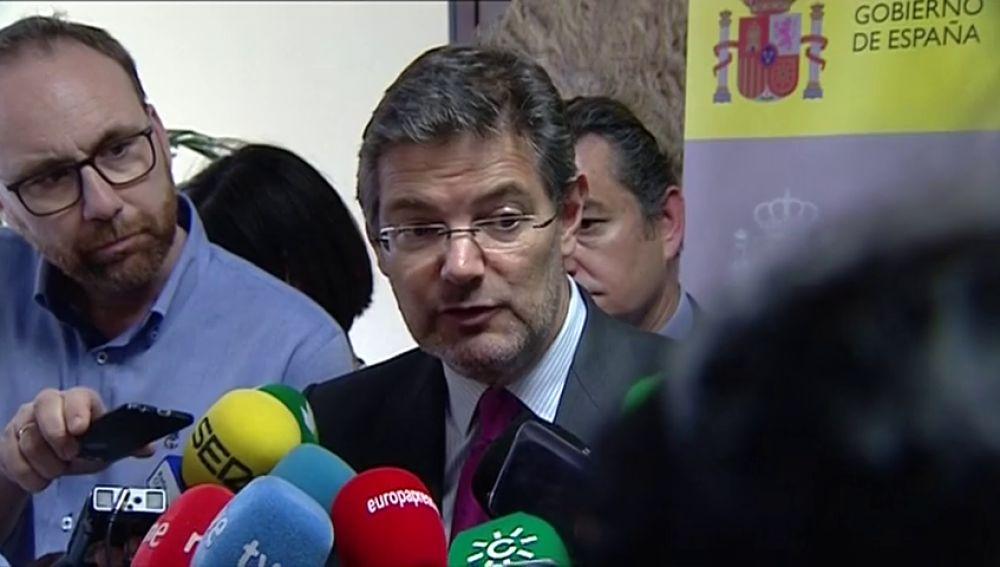 El ministro de Justicia reflexiona sobre la posibilidad de cambiar el código penal