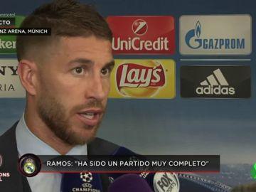 """Sergio Ramos: """"Todavía no hemos hecho nada, máximo respeto para el Bayern"""""""